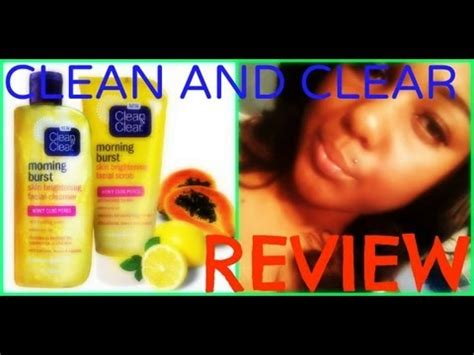 Harga Clean And Clear Morning Burst review time clean and clear morning burst cleanser