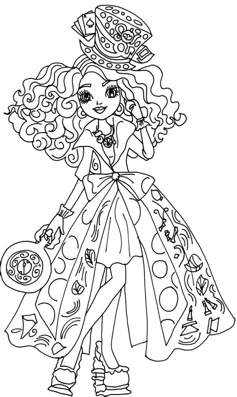 printable   high coloring pages madeline