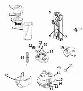 Eureka Air Speed Vacuum Parts