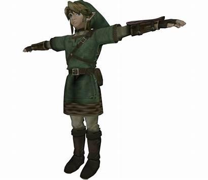 Models Link Gamecube Twilight Princess Zelda Legend
