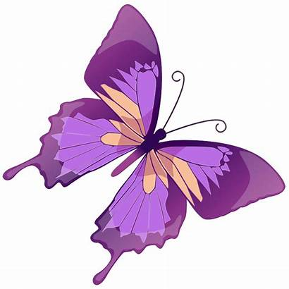 Butterfly Purple Clipart Transparent Clipground
