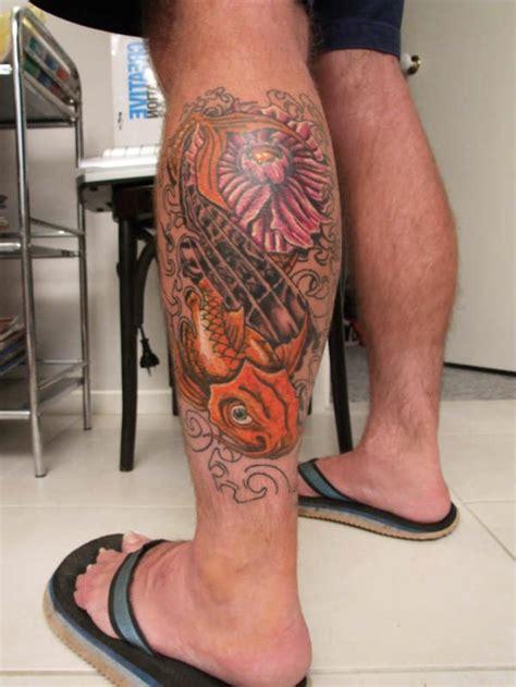 waden tattoo ideen fuer maenner und frauen tattoos