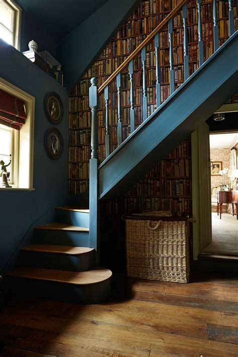 feature staircase  paint paper library squid ink