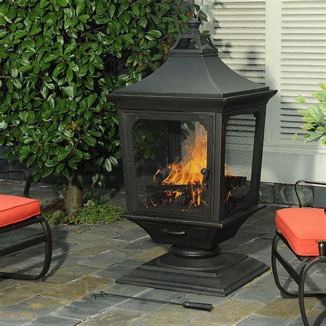 Sunjoy Mason Wood Burning Fireplace