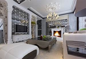interior design living room modern european style With modern european living room design