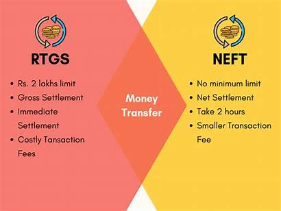 Rtgs Neft Difference Between Table