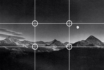 Thirds Rule Ansel Adams Animated Giphy Photograph