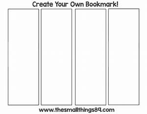 blank printable bookmarks pictures to pin on pinterest With create your own bookmark template