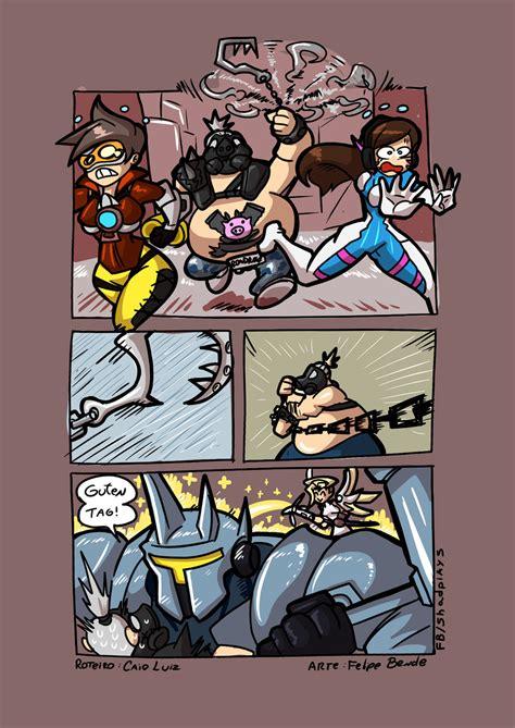 The Funniest Overwatch Comics  The Overwatcher