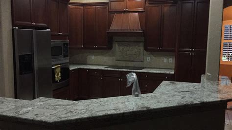 pictures of tile countertops for kitchens white springs granite countertops installation kitchen 9135
