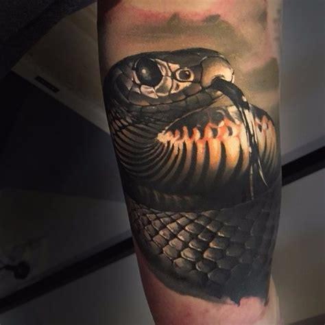 Arm Snake Realistic tattoo | Best Tattoo Ideas Gallery