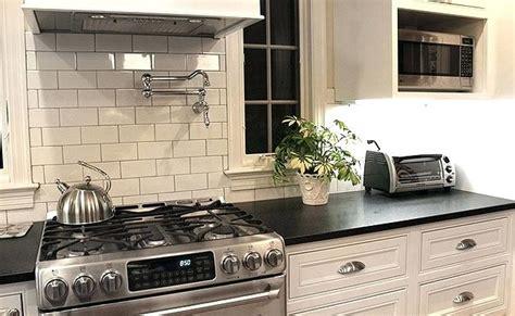 kitchen backsplash with black granite black granite countertops with tile backsplash house 7712