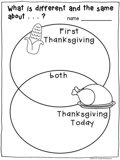 thanksgiving social studies lesson plans for 1st grade