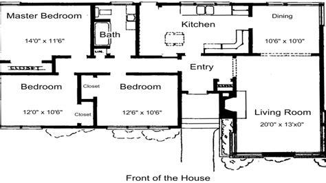 floor plans for ranch homes luxury 3 bedroom house plans 3 bedroom house plans free 3