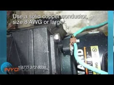 How Wire Pool Pump Youtube