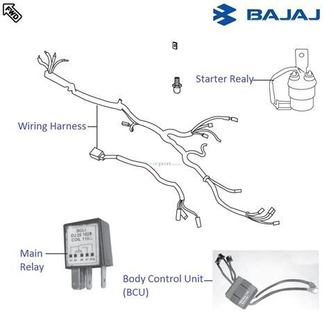 bajaj pulsar 220f dtsi wiring and relays