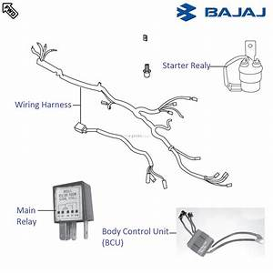 Bajaj Pulsar 220s Dtsi  Wiring And Relays