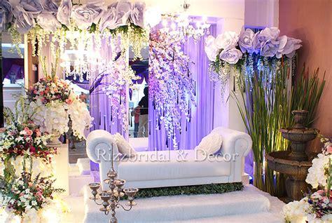 rizzbridal decor recepsi perkahwinan garden  love