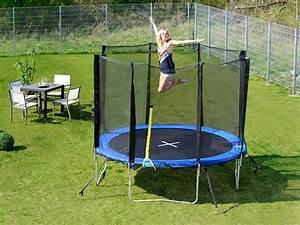 Trampolin Für Den Garten : pearl sports garten trampolin trn 305 mit sicherheitsnetz ~ Michelbontemps.com Haus und Dekorationen