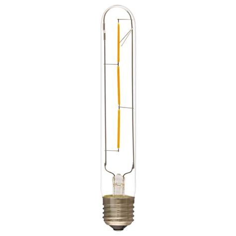 t30 185mm medium size t30 tubular led filament bulb led