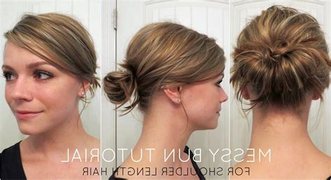 15 best collection of easy updo hairstyles for medium