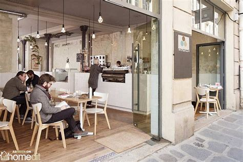 Coutume Interior design Cafe by CUT Architectures