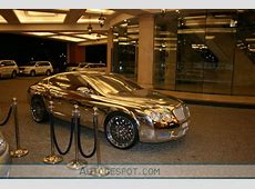 Golden Bentley Continental GT Spotted In Dubai Top Speed