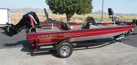 Bass Fishing Boats For Sale In California by 2007 Used Crestliner Cx19 Bass Boat For Sale 11 700