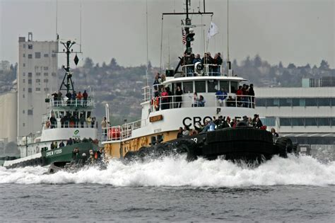 Tugboat Races by Seattle Maritime Festival Offers Free Harbor Tours