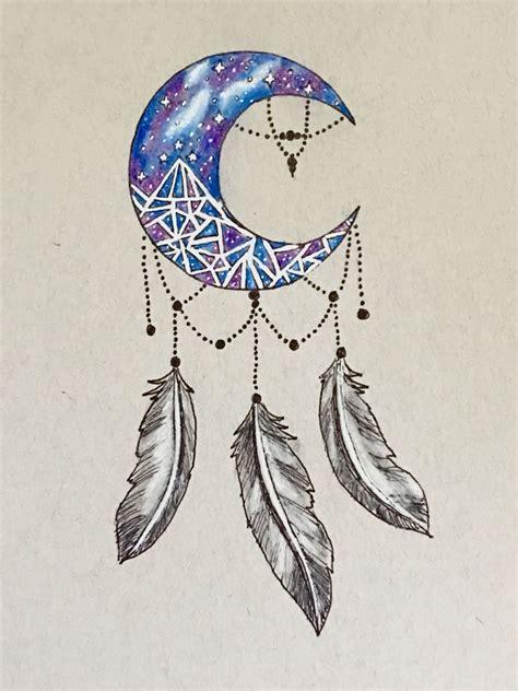 acotar night court dream catcher tattoo design