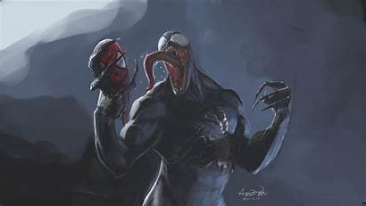 Venom Horror Bloody Disgusting Hint Perfect Spider