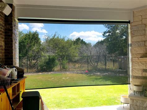 solar window screens  outdoor patio shades solar