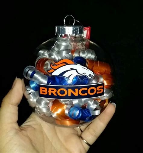 broncos ornament christmas diy christmas ornaments