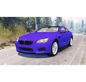 BMW M6 F13 For Spin Tires