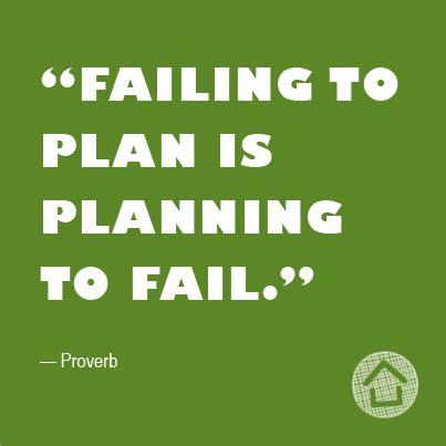 failing  plan  planning  fail unknown