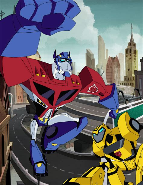 Transformers Animated Bumblebee Wallpaper - transformers animated series images optimus n bumblebee hd