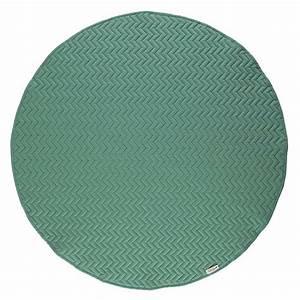 Tapis Vert Menthe : tapis kiowa pure line menthe nobodinoz pour chambre enfant les enfants du design ~ Melissatoandfro.com Idées de Décoration