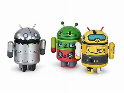 Robot Android Mini Revolution Dead Zebra Figurines