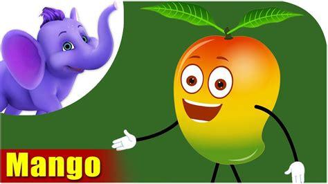 mango cartoon fruit hindi fruits children rhyme marathi aam song