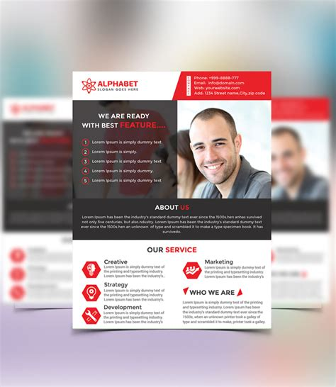 Colorful Corporate Business Flyer Template Psd File Free New Photoshop Free Psd Files For 2016 Freebies Graphic