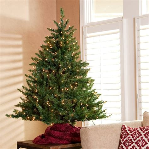 table top christmas tree get the joyful nuance in your home by decorating a pre lit tabletop tree