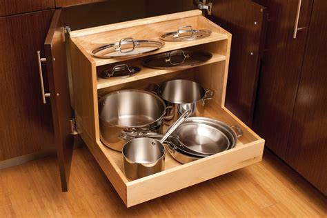 pull pots pans cabinet drawer storage cabinets lids tall pantry above pan pot kitchen drawers cookware organization organize lid shelf