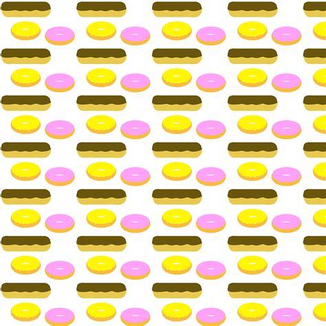 Doughnut Background Free Illustration Donuts Fry Cake Doughnut Glazed