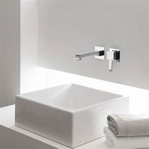 Vasque Originale : vasque poser originale meuble de salle de bain double ~ Dode.kayakingforconservation.com Idées de Décoration