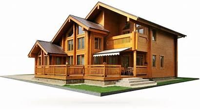 Wooden Clipart Construccion Transparent Casas Madera Purepng