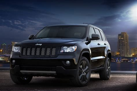 black jeep grand cherokee jeep unveils nameless all black jeep grand cherokee
