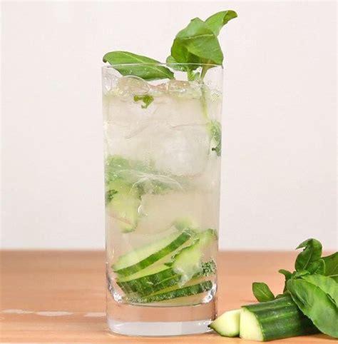 gin tonic mit gurke cucumber basil gin and tonic splendid in 2019 gin