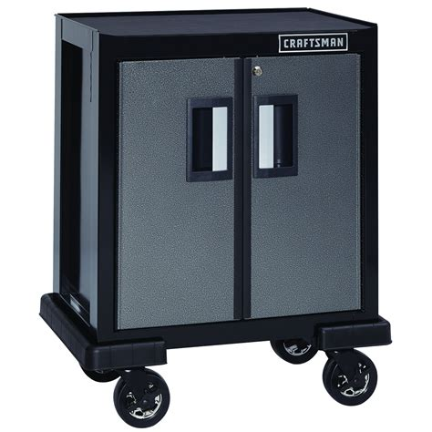 heavy duty garage cabinets craftsman premium heavy duty 2 door base cabinet tools
