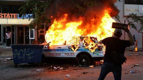 george floyd riots  updates trump threatens