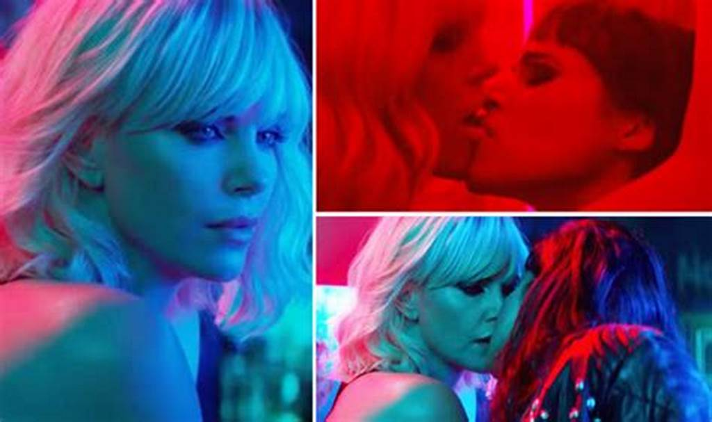 #Charlize #Theron #Atomic #Blonde #Gay #Kiss #And #Toilet #Sex #With